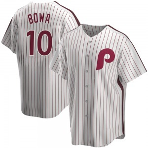 Larry Bowa Philadelphia Phillies Replica Home Cooperstown Collection Jersey - White